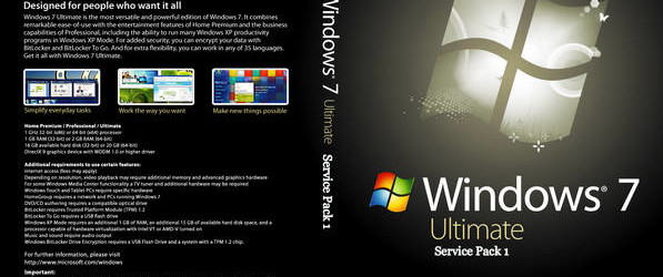 Windows 7 Ultimate 32Bit (Sp1) Iso