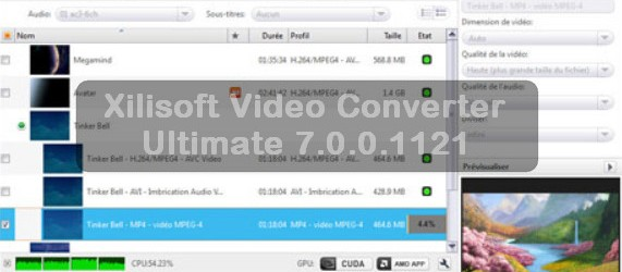 Xilisoft Video Converter Ultimate 7.0.0.1121