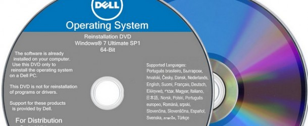 Dell Genuine Windows 7 Ultimate SP1 X64