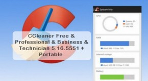 CCleaner Pro Business Technician 5.16 + Portable