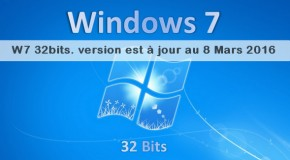 Windows 7 32Bits FR All in One R7