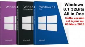 Windows 8.1 32Bits FR All in One R5