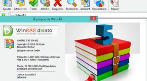 WinRAR 5.40 Et Version Portable (x32/x64)