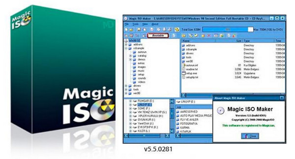MAGICISO - Magic ISO Maker - Download
