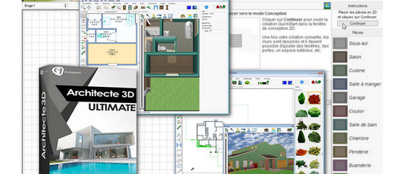 Architecte 3D Ultimate 2017 ( V19 )