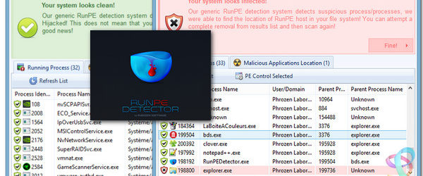 RunPE Detector 1.0.5640 build 65324