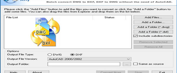 Any DWG DXF Converter Pro 2017 + Portable