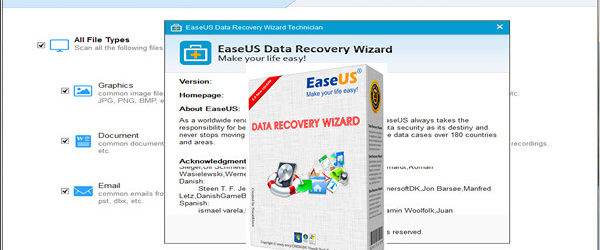EASEUS Data Recovery Wizard Technician Edition v11
