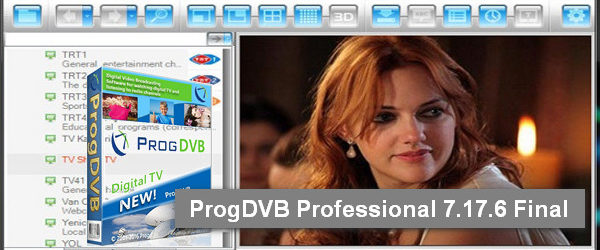 ProgDVB Professional 7.17.6 Final