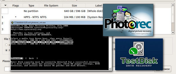 TestDisk & PhotoRec 7.1 WIP Portable