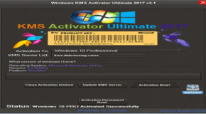 Windows KMS Activator Ultimate 2017 v3.3 Portable
