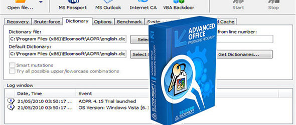Advanced Office Password Recovery 6.32.1622