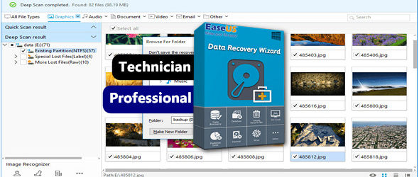 EaseUS Data Recovery Technician Professional 11.9