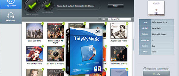 Wondershare TidyMyMusic 1.6.0.3
