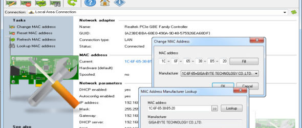 Change MAC Address 3.5.0.134 + Portable