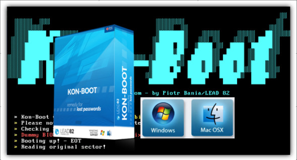 crazy price incredible prices free delivery Kon-Boot 2.7 Windowe et macOS | TrucNet