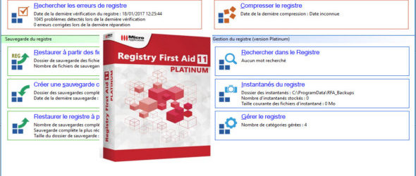 Registry First Aid Platinum 11.1.0.2495