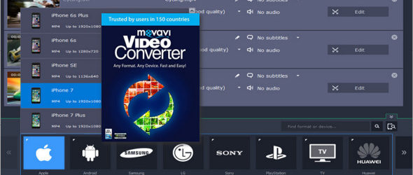 Movavi Video Converter 18.3.0 Premium Portable