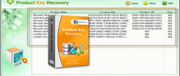 SmartKey Product Key Recovery 6.1.0.0
