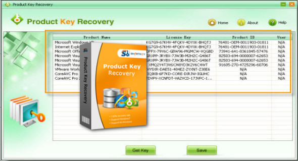 SmartKey Product Key Recovery 6 1 0 0 | TrucNet