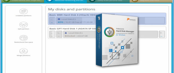 Paragon Hard Disk Manager Advanced 16.18.6