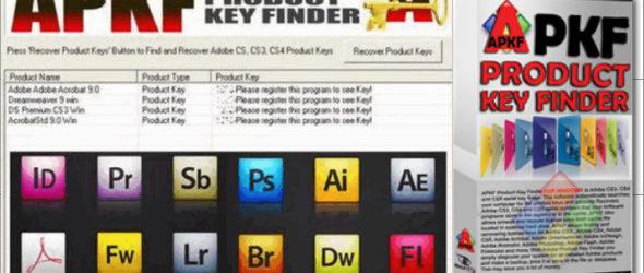 APKF Adobe Product Key Finder 2.5.6.0