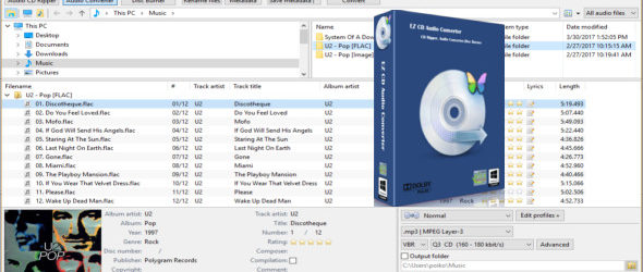 EZ CD Audio Converter 9.1.6.1 + Portable
