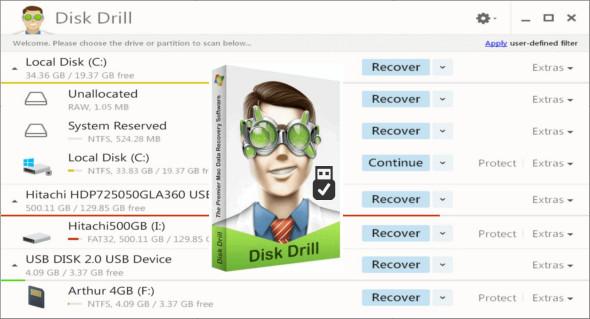 Disk Drill Pro 4.4.356 Crack + Activation Key (Mac & Win) Download