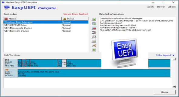 EasyUEFI Enterprise 3 5   TrucNet