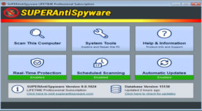 SUPERAntiSpyware Professional 8.0.1040