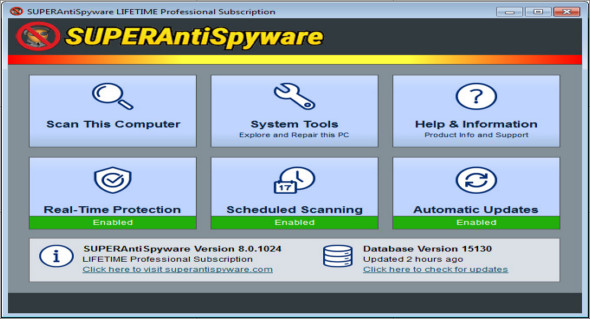 SUPERAntiSpyware Professional 8 0 1040   TrucNet