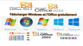 Télécharger Windows et l'Office gratuitement