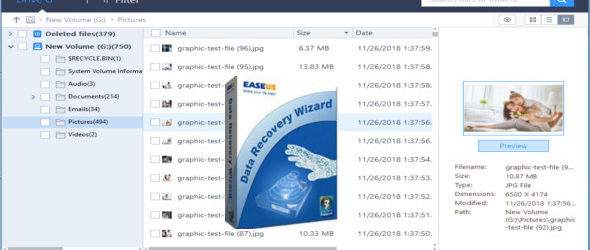 EaseUS Data Recovery Wizard Technician 12.8.0