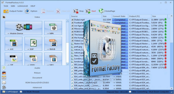 Format factory portable apps | Download Format Factory