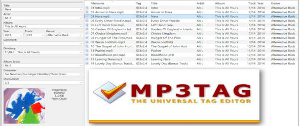 Mp3tag 2.95a + Portable