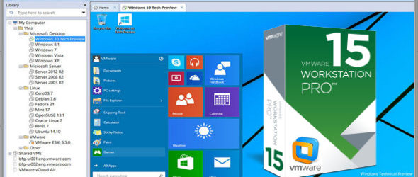 VMware Workstation Pro 15.0.2 Build 10952284