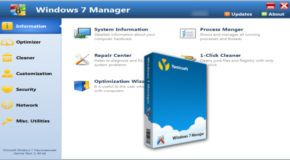 Windows 7 Manager v5.2.0 + Portable