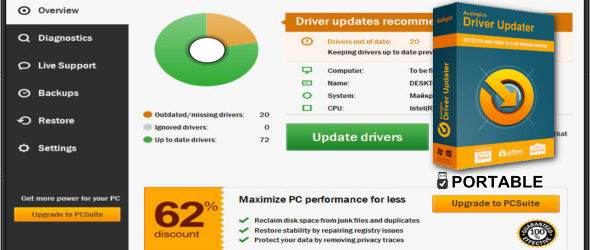 TweakBit Driver Updater 2.0.1.7 + Portable