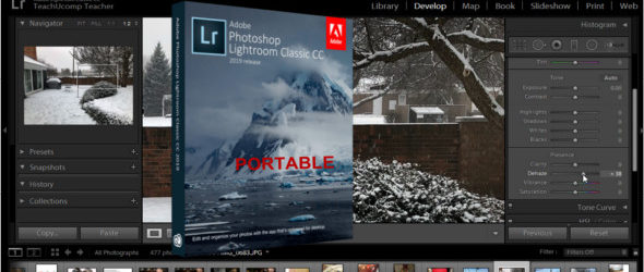 Photoshop Lightroom Classic CC 2019 8.4.1.10 + Portable