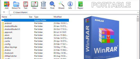 WinRAR 6.01 Final + Portable