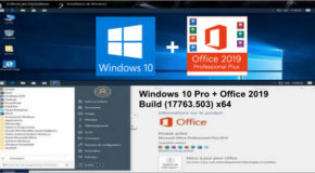 Windows 10 Pro + Office 2019 Build (17763.503) x64