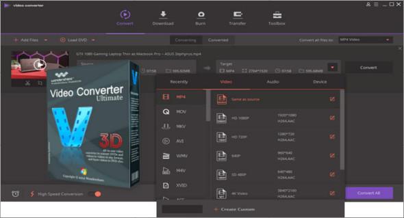 Wondershare Video Converter Ultimate 11.0.0 | TrucNet