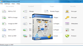 PDF Shaper Professional 9.3 + Portable