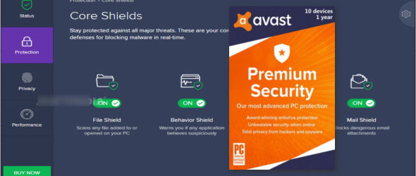 Avast Premium Security 20.1.2397