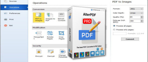 AlterPDF Pro 4.1 + Portable
