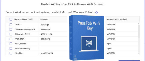PassFab Wifi Key 1.2.0.1