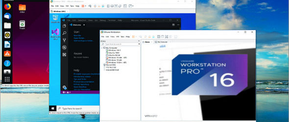 VMware Workstation Pro 16.1.1 Build 17801498