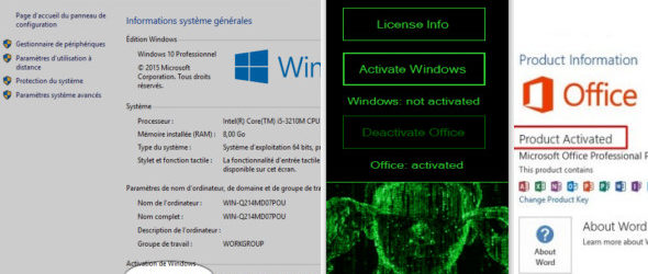 KMS Matrix 3.0 Activateur Windows et Office