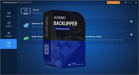 تحميل برنامج AOMEI Backupper WinPE Boot ISO - Technician Plus مع التفعيل الاصدار الاخير