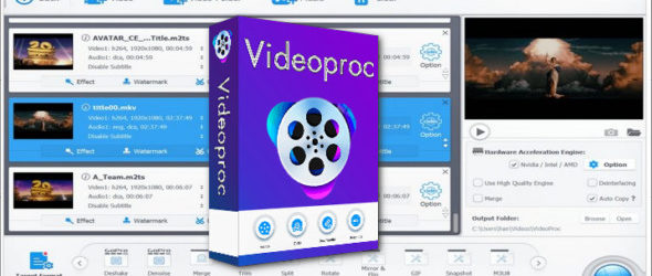 Digiarty VideoProc 4.0 Portable